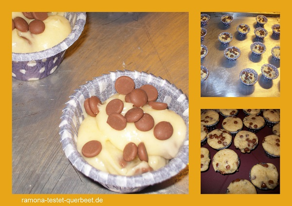 milka muffins gebacken